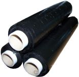Black Standard Pallet Stretch/ Shrink Wrap 400mmx200m
